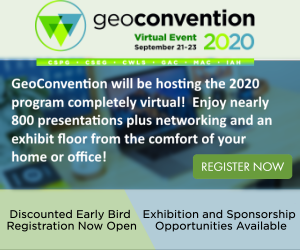 Geoconvention 2020