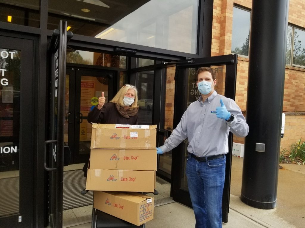 Becht Donates 18000 Masks to Local Communities
