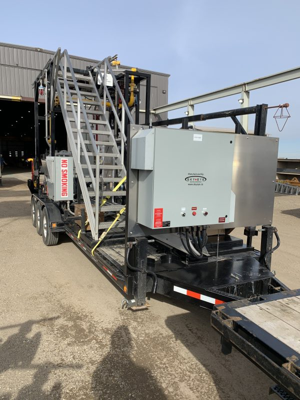 CASE STUDY - Sky Eye Measurement presents a client with a solution to retrofit an existing LPG unit to provide an efficient and cost-saving solution.
