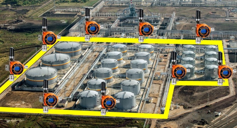 CASE STUDY - Vanguard Wireless Gas Detector Plant Expansion success story