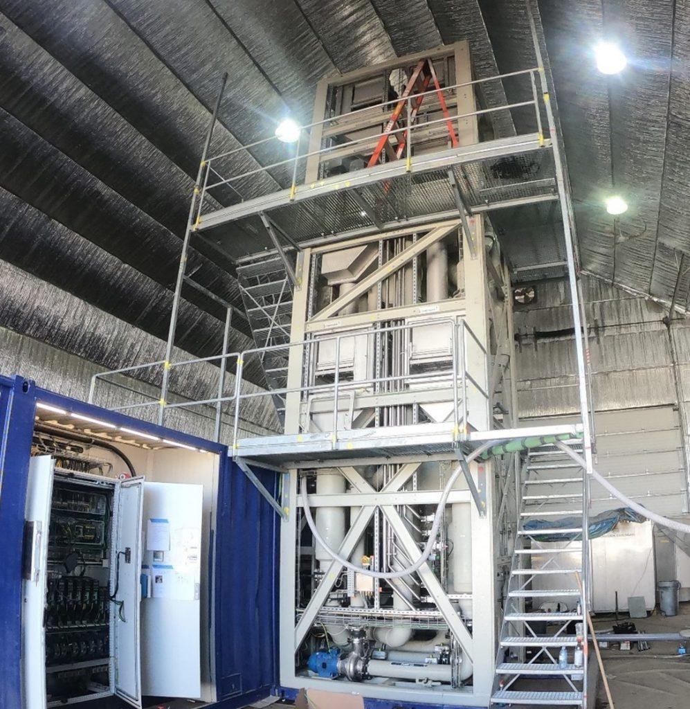 Distill Industrial Wastewater Using Waste Heat with Innovative Low-Temperature Distillation (LTDisTM) Technology 1
