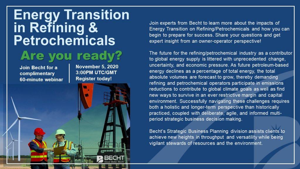 Energy Transition Webinar LinkedIn invite