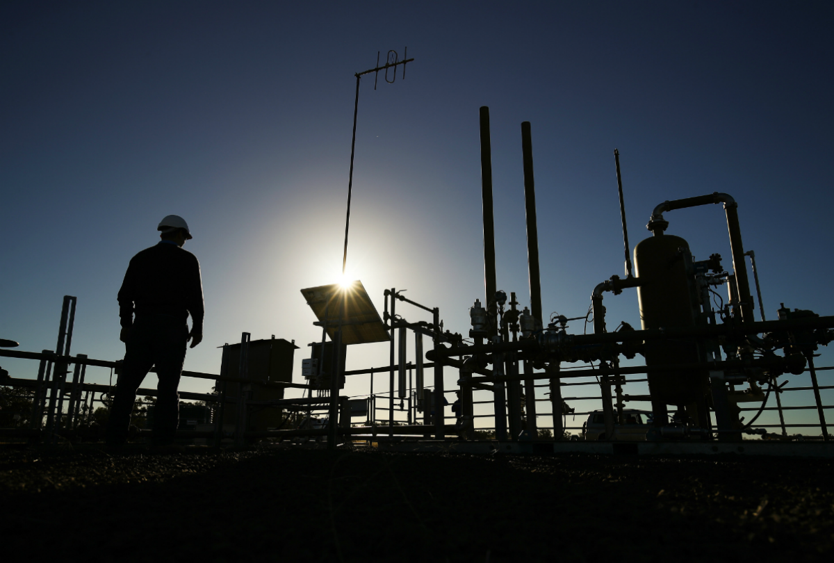 Santos Ltd. Gas Operations in Narrabri