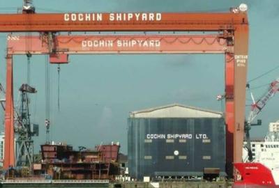 India Ship Fire