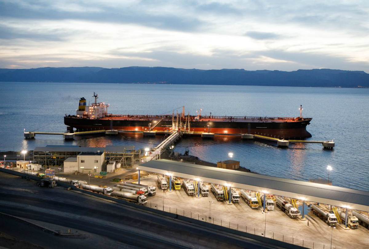 LNG And LPG Operations At Aqaba Port, Jordan