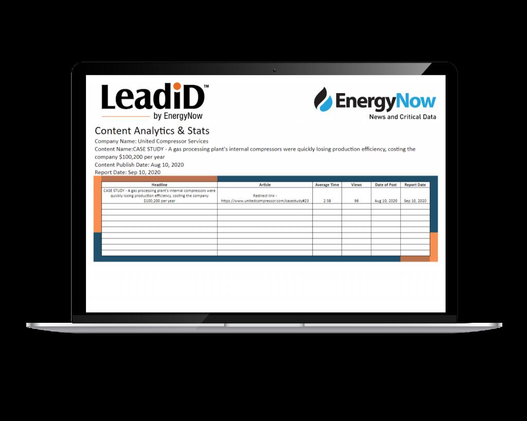 LeadiD Report #1 Image