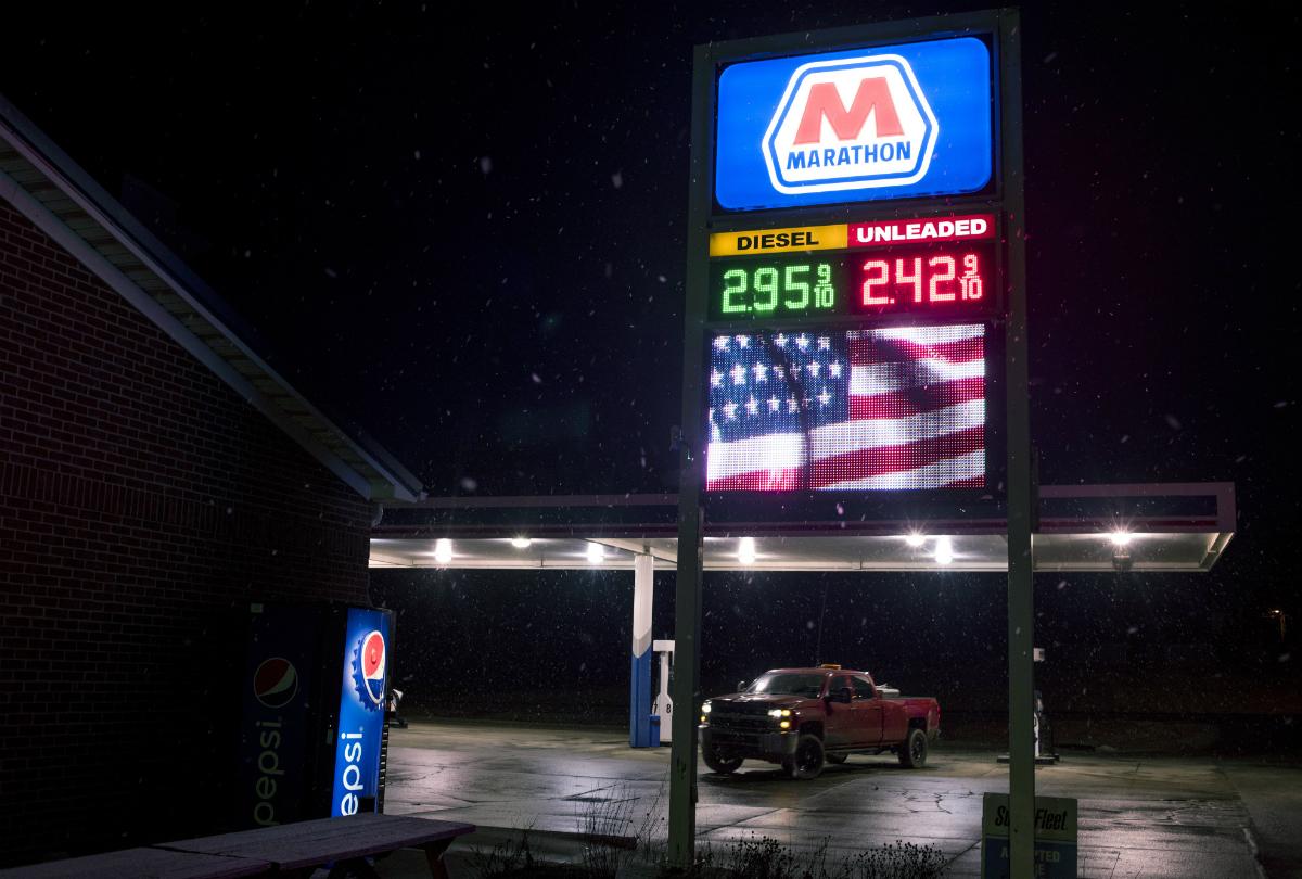 Marathon Petroleum Corp. Gas Station