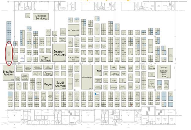 OTC 2021 - Intelliview Location Map