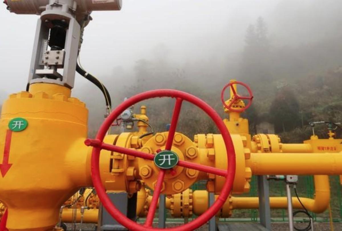 A gas injection site of Xiangguosi underground gas storage run by PetroChina is seen in Chongqing, China March 18, 2018. REUTERS/Chen Aizhu