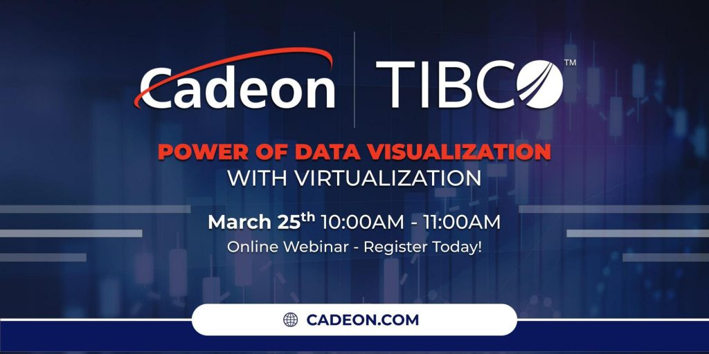 Power of Data Visualization with Virtualization March 25th