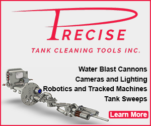 Precise Tank Cleaning