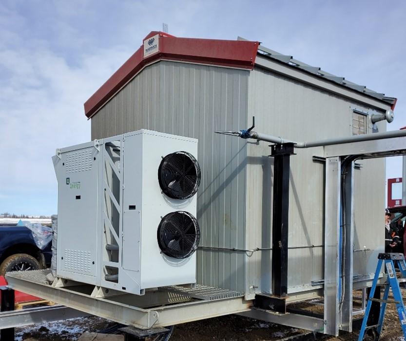 Qnergy Free Piston Stirling Engine Powered Methane Abatement 3