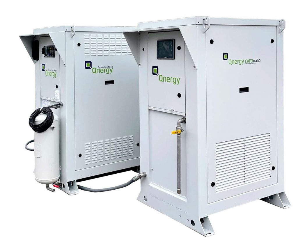 Qnergy Free Piston Stirling Engine Powered Methane Abatement 4