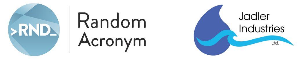 Random-Acronym-Logo Combo with Jadler Industries