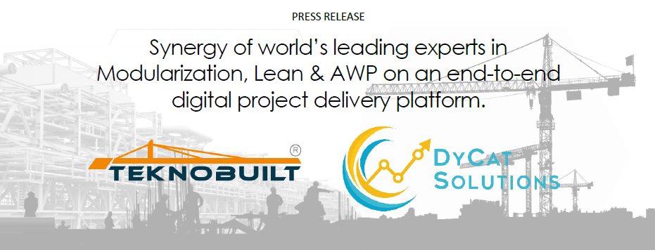 Synergy of world's leading experts in Modularization, Lean & AWP on an end-to-end digital project delivery platform