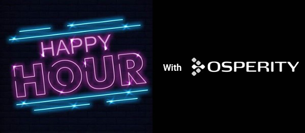 Youre invite to a virtual happy hour to discuss video analytics-machine learning and its role in the emerging digital oilfield - Osprey